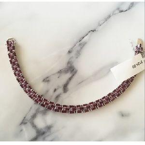 Jewelry - 🔥1DAY SALE AMETHYST BRICK ROAD BRACELET